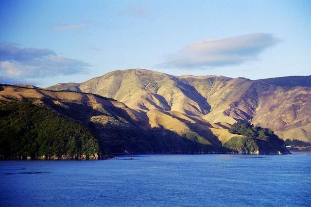 Nouvelle Zélande, détroit de Cook